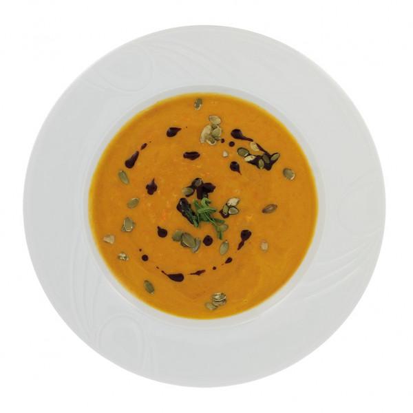 Kürbissuppe mit Ingwer & Orange