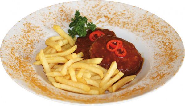 Curry Frikadelle (2 Stück)